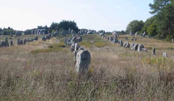 [Image: Carnac standing stones]