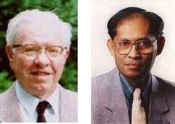 [Fred Hoyle and Chandra Wickramasminghe]