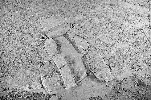 [Image: Lepenski Vir grave site]