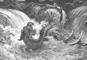 [Image: Leviathan. After Gustave Doré.]