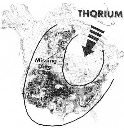 [Image: Thorium in North America.]